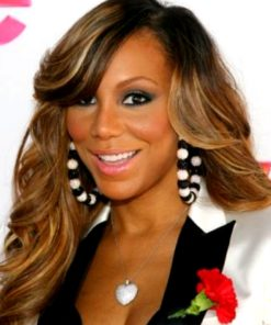 Tamar Braxton - TToned - Body Wave w/ Side Bang - Custom Celebrity Lace Wig