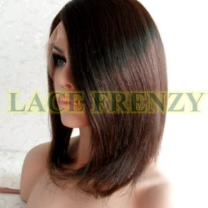 Vivian - 12 Inches - Bob Styled - Indian Remy Hair - Lace Front Wig