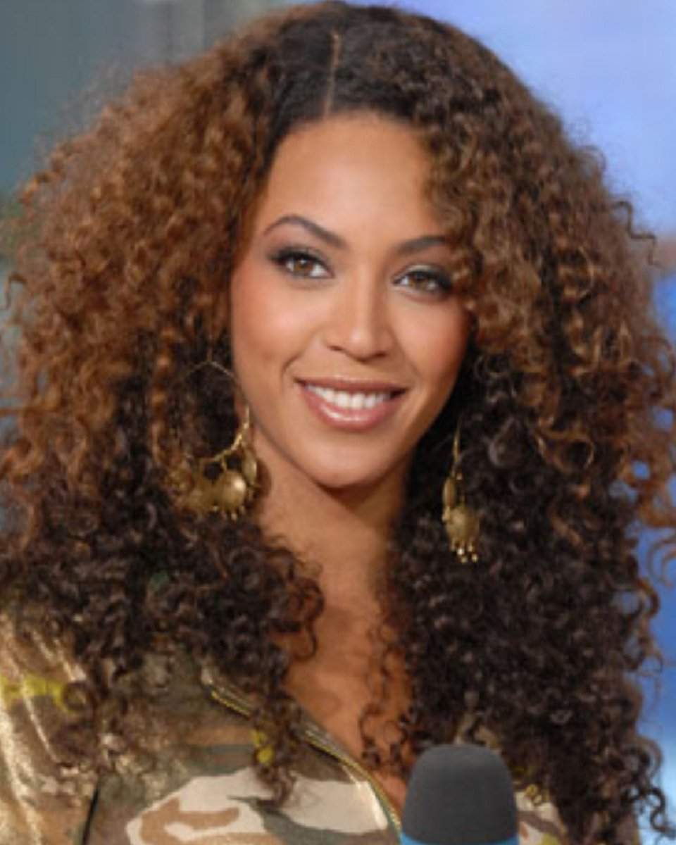 Beyonce Two Toned Tight Curls Custom Celebrity Lace