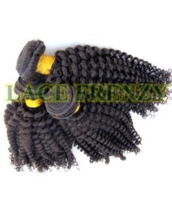 Virgin kinky curly machine weft
