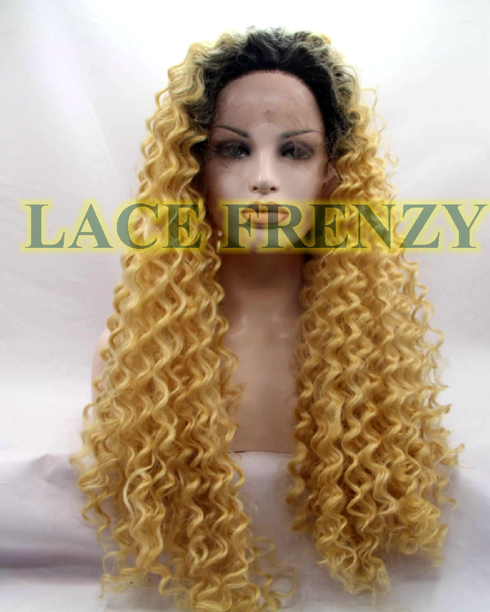 Grecia - 20 Inches - Two Toned Loose Wave - Lace Front Wig
