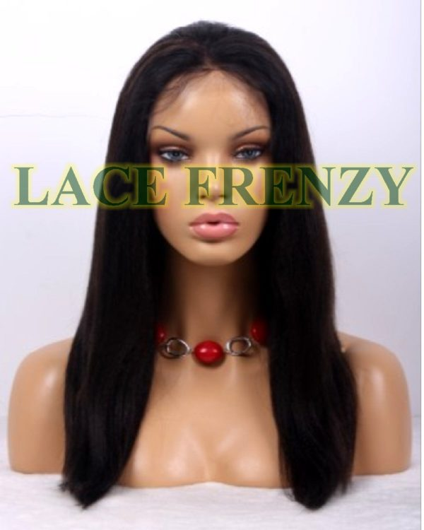 Isis- 16 Inches - Yaki - Indian Remy Hair -Full Lace Wig