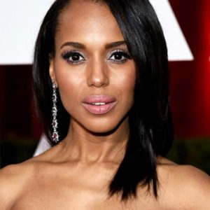 Kerry Washington - Yaki Straight- Custom Celebrity Lace Wig
