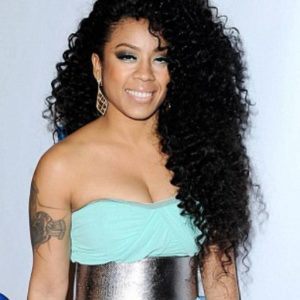 Custom wig keyshia cole kinky curly