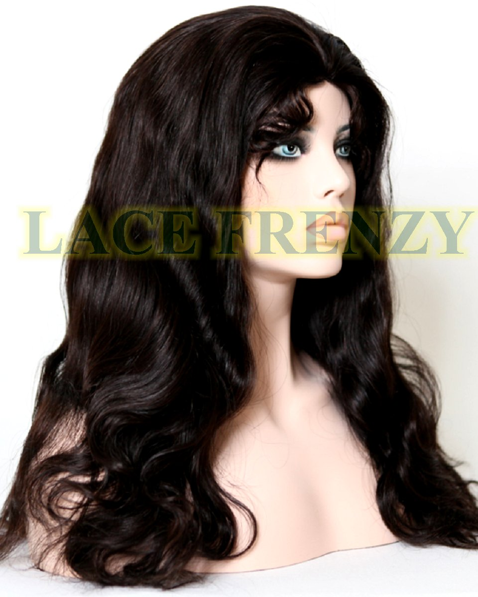 Tara - 20 Inches - Body Wave - Indian Remy hair - Glueless Full Lace Wig