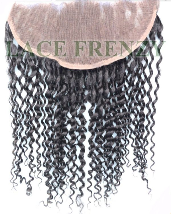 Peruvian Hair - 13x4 Inches - Kinky Curly - Lace Frontal