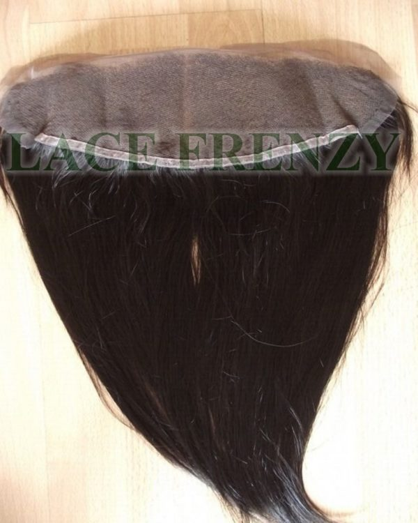 13x6 Inches - Natural Straight - Indian Virgin Hair - Lace Frontal