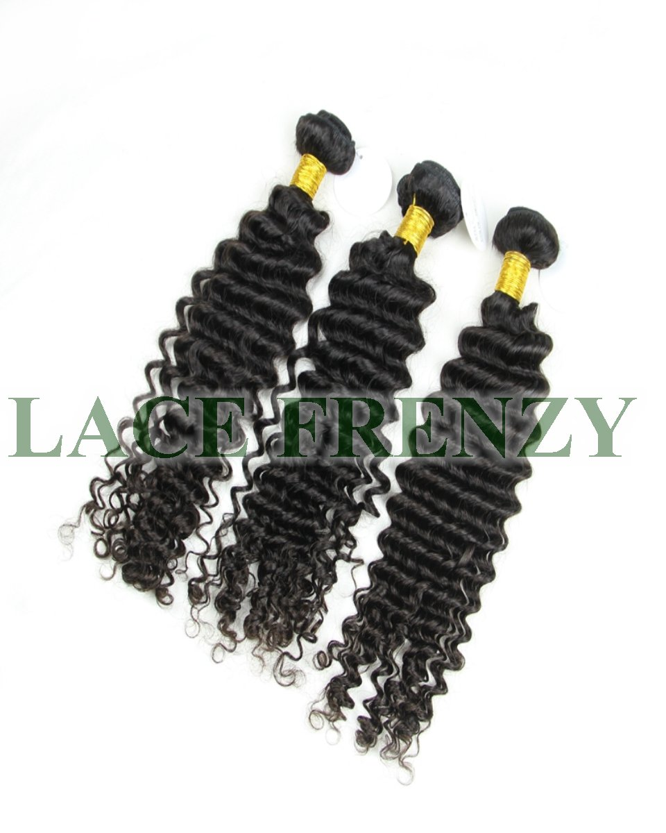 Deep Curly - Layered Machine Weft Bundle Kit