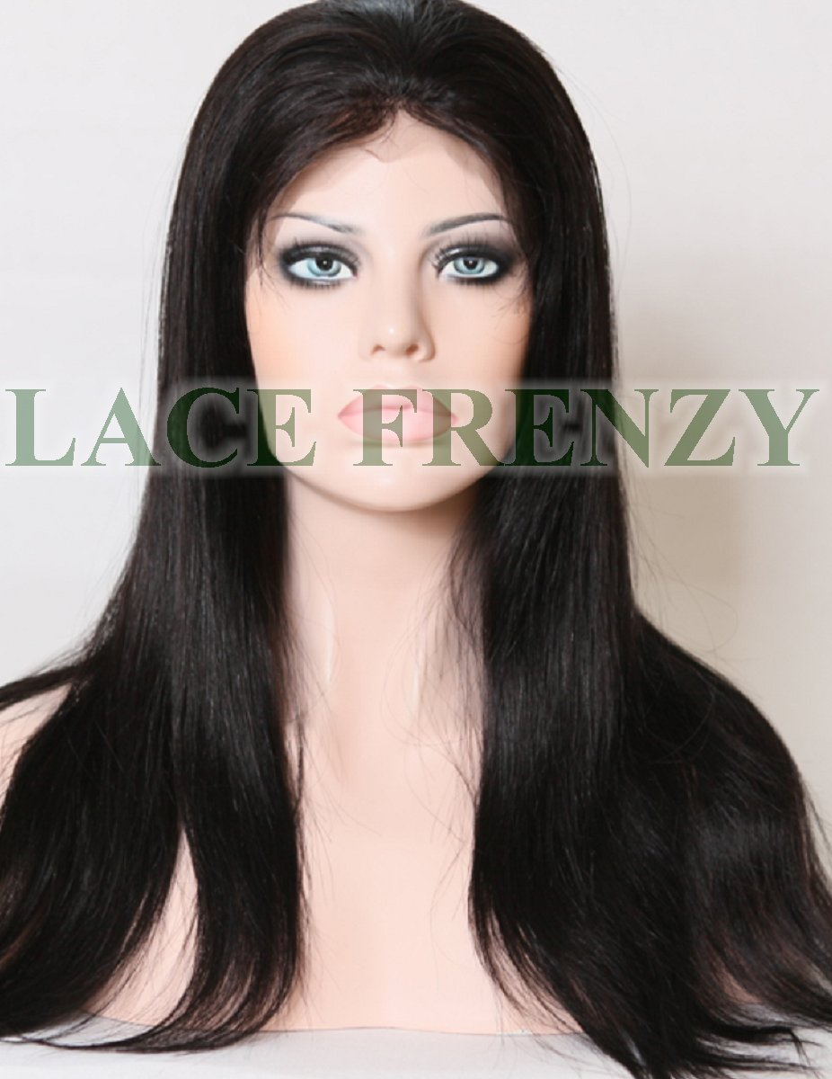 Kerry - Natural Straight- Chinese Virgin Hair- Silk Top Full Lace Wig