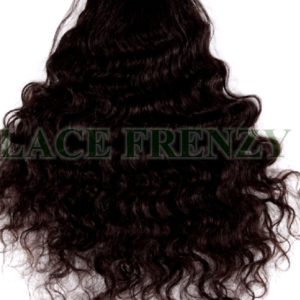 3.5 X 4 Inches - Natural Curly - Brazilian Hair - Silk Base Top Closure