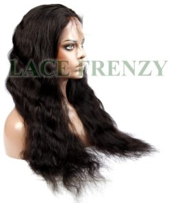 La'Sara - Brazilian Virgin Hair - Natural Wave-- Full Lace Wig