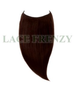 Brazilian virgin hair straight flip in halo hair extions