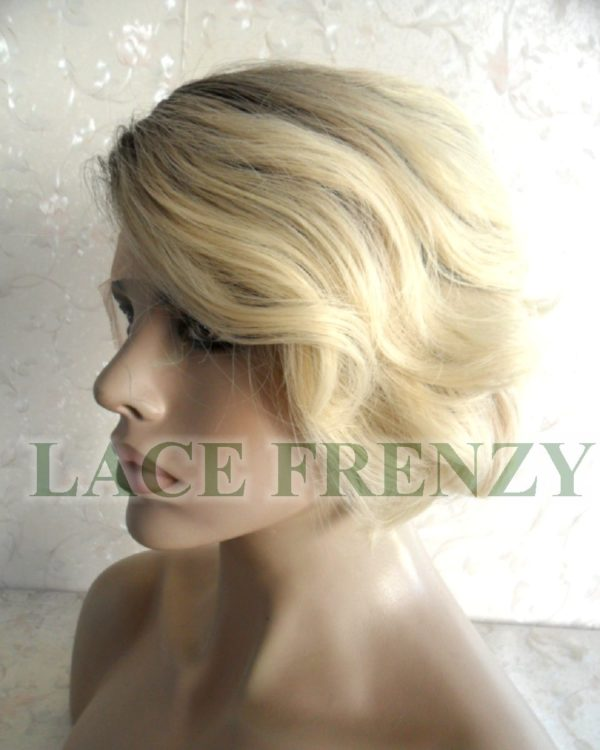 Short body wave #613/1b lace front wig
