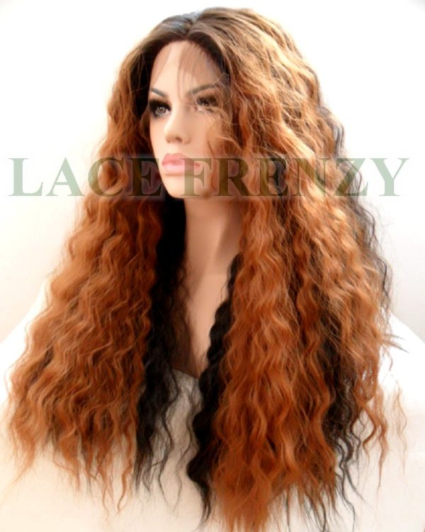 Harley - Wavy - Two Toned - Lace Front Wig