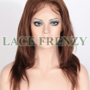 Vivieanna - 14 Inches - Light Yaki - Indian Remy Hair - Full Lace Wig