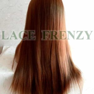 Heat safe lace front wig straight color #27/30