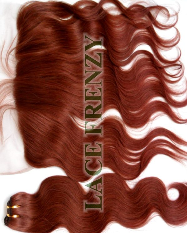 13X4 Inches - Body Wave - Lace Frontal & 200G Machine Weft Bundle Kit