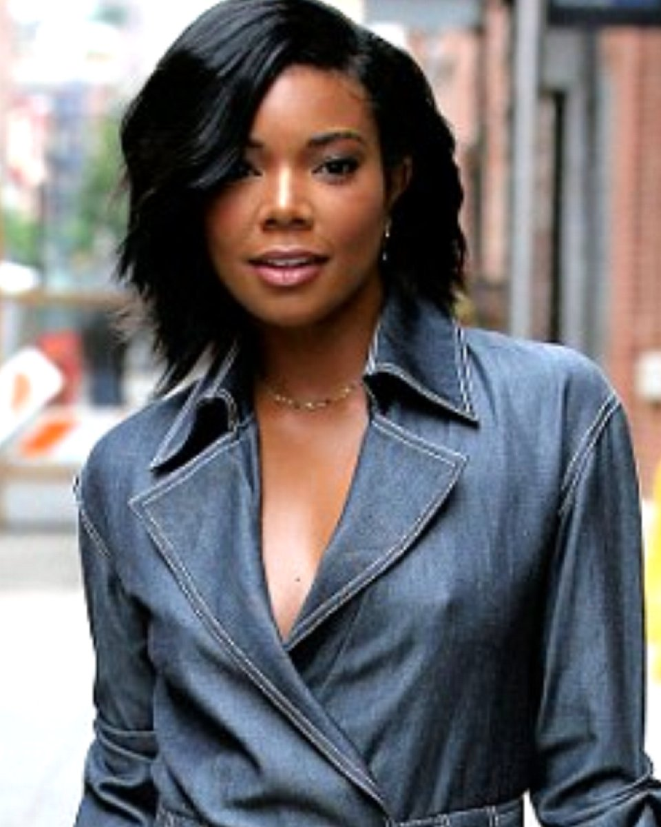 Gabrielle Union -Light Yaki - Bob Cut - Custom Celebrity Lace Wig