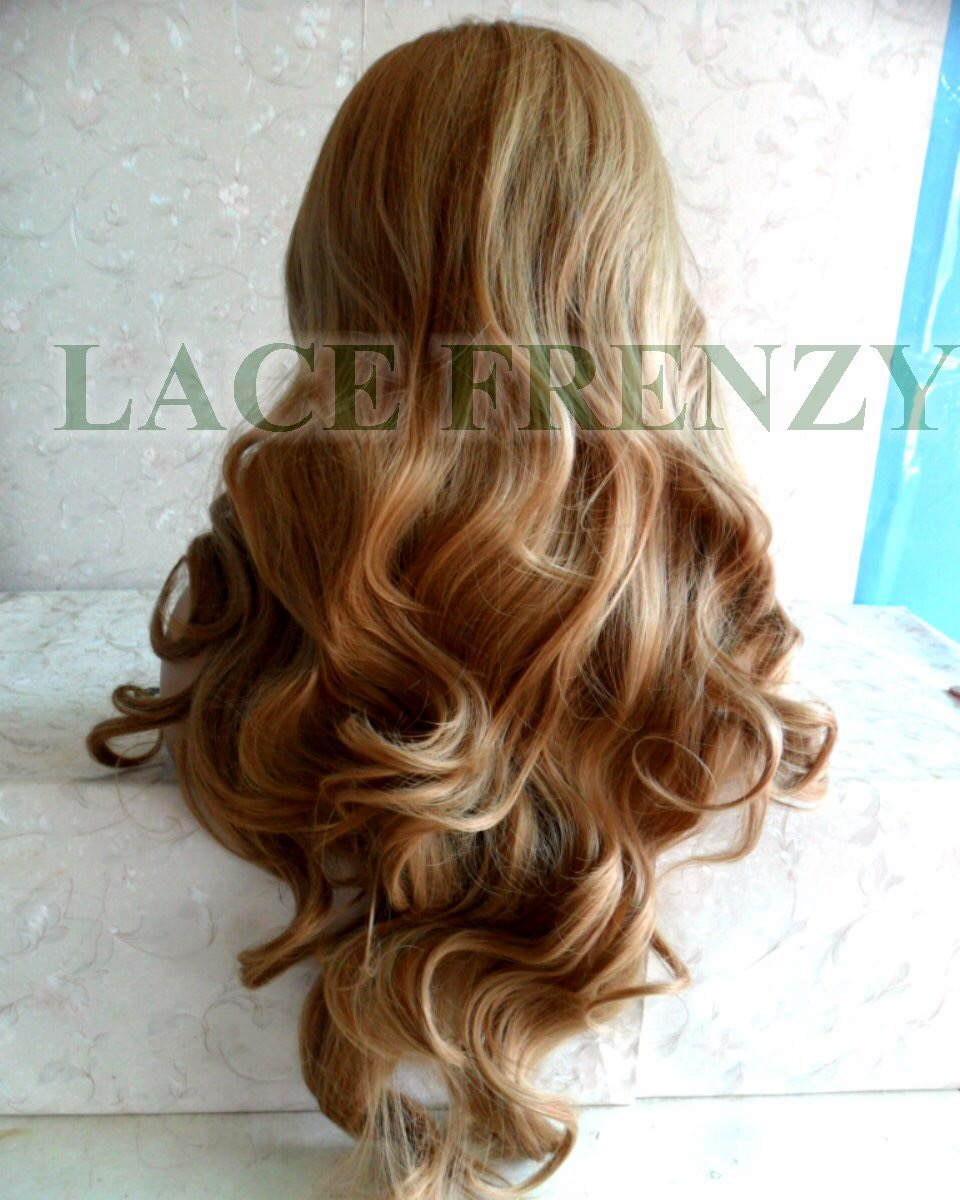 T2/22 body curls lace front wig