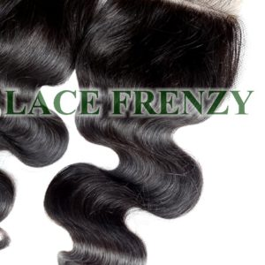 4x4 Inches - Body Wave -Grade 8A Hair - Lace Top Closure