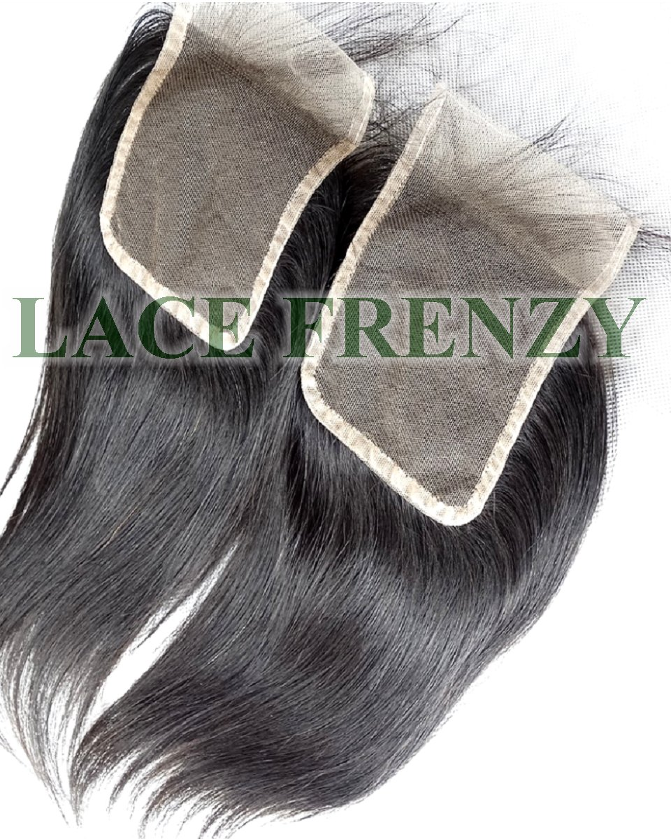 4x4 Inches - Straight -Grade 8A Hair - Lace Top Closure