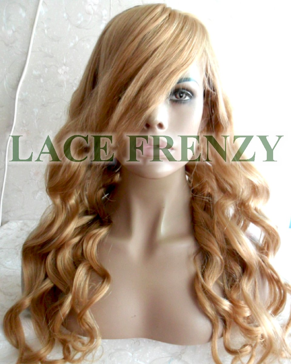 Nycola - Loose Wave w/ Side Bang - Brazilian Virgin Hair - Full Lace Wig