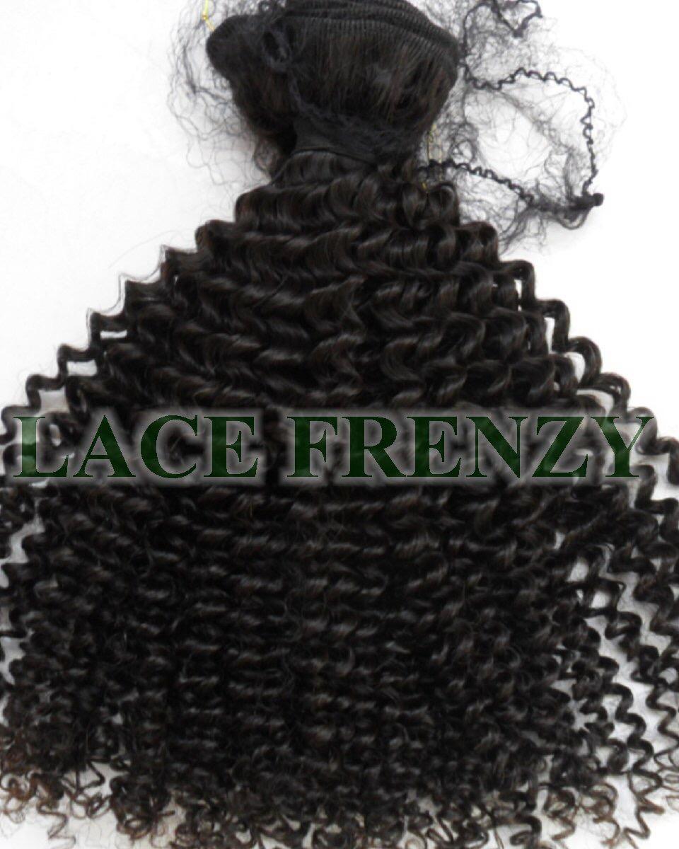 Kinky Curl - Peruvian Virgin Hair -Machine Weft
