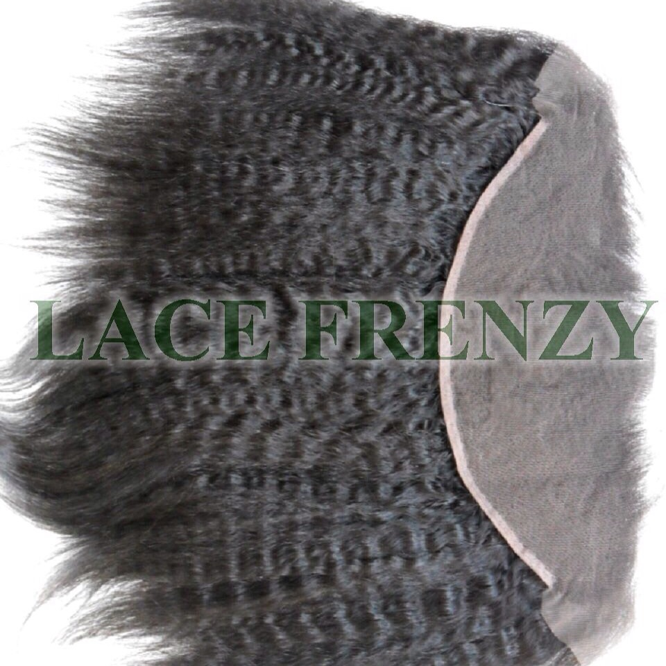 Afro Kinky Straight - 13X4 Inches -Lace Frontal