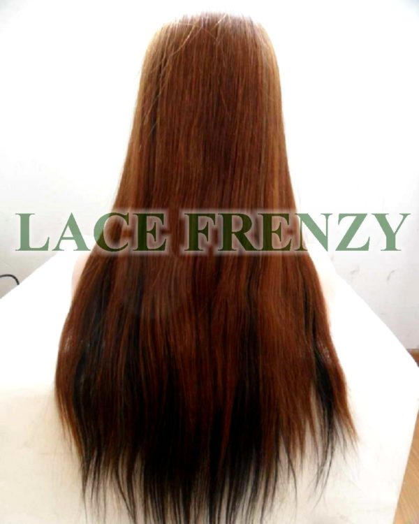 CeCe - 20 Inches - Natural Straight - Indian Remy Hair - Lace Front Wig