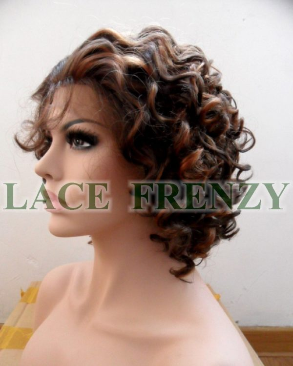 Chantel - Curly - Lace Front Wig