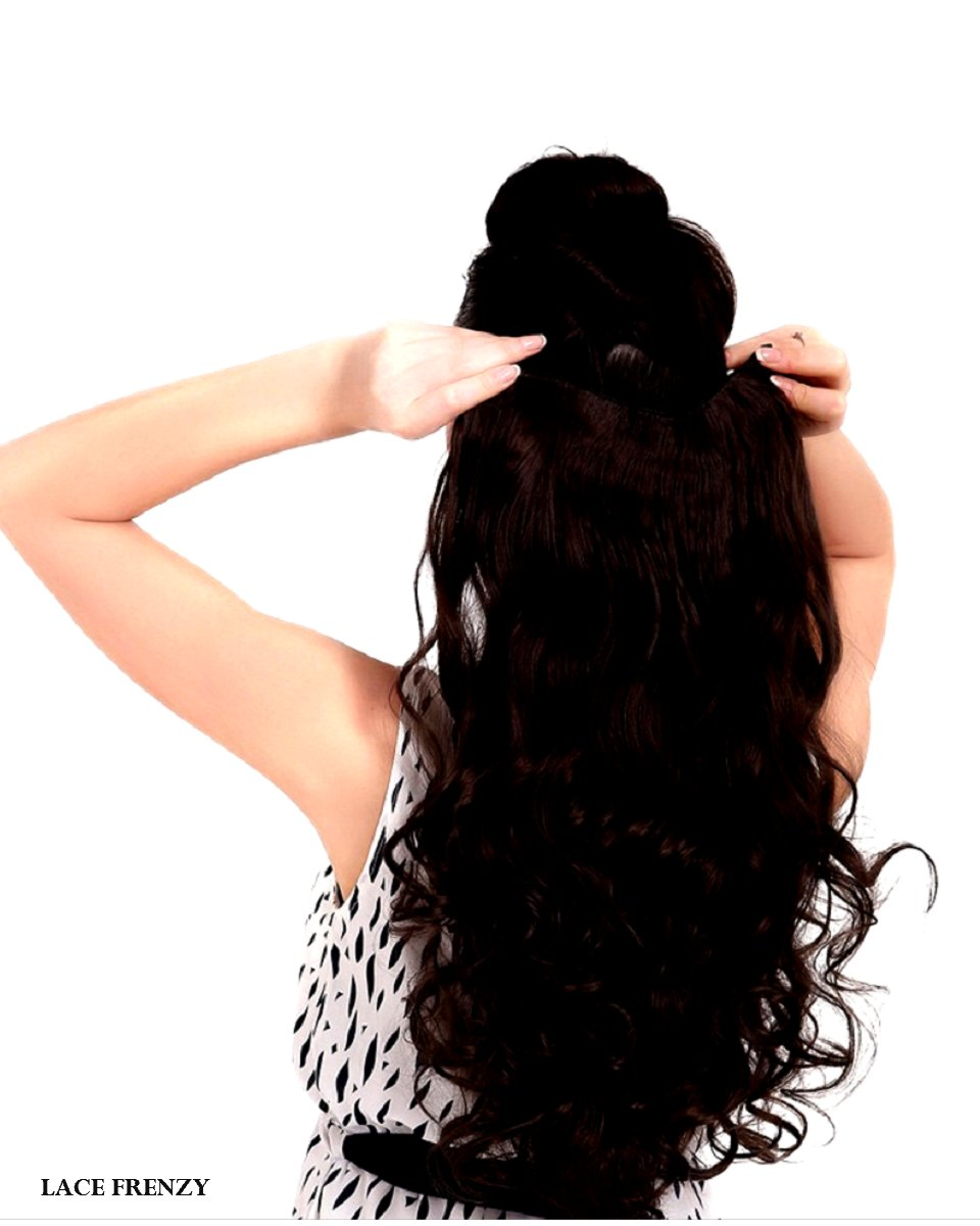 Body Curl - Grade 8A Virgin Hair - Double Drawn - One Piece Clip-in Hair Extension