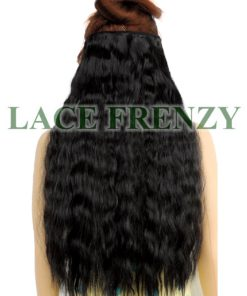 Deep Wavy - Grade 8A Virgin Hair - Double Drawn - One Piece Clip-in Hair Extension