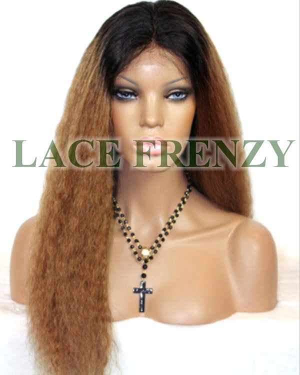 Savannah - Two Toned -Kinky Wave -Full Lace Wig