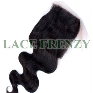 5x5 Inches - Body Wave -Grade 8A Hair - Lace Top Closure