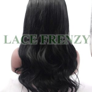 Iris - Slight Wavy w/Side Part - Lace Front Wig
