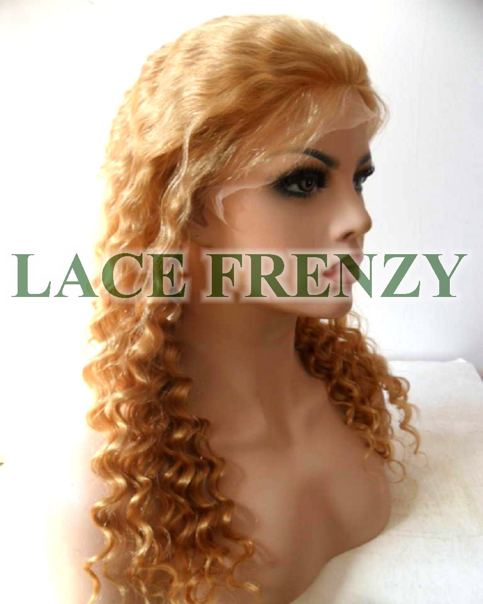 Kendra - 18 Inches - Chinese Virgin Hair -Deep Wave - Lace Front Wig
