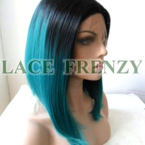 Margarita -12 Inches - Two Toned Bob Styled - Lace Front Wig
