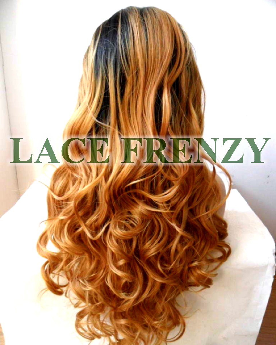 Nola - Two Toned - Body Curl - Lace Front Wig