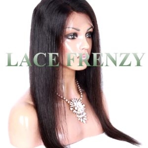 Brazilian Virgin Human Hair - Straight - 360 Band Lace Frontal
