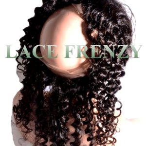 Brazilian Virgin Human Hair - Deep Curly - 360 Band Lace Frontal