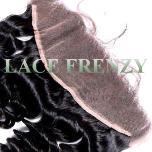 Malaysian Virgin Hair - Loose Wave- 13x4 Inches Lace Frontal