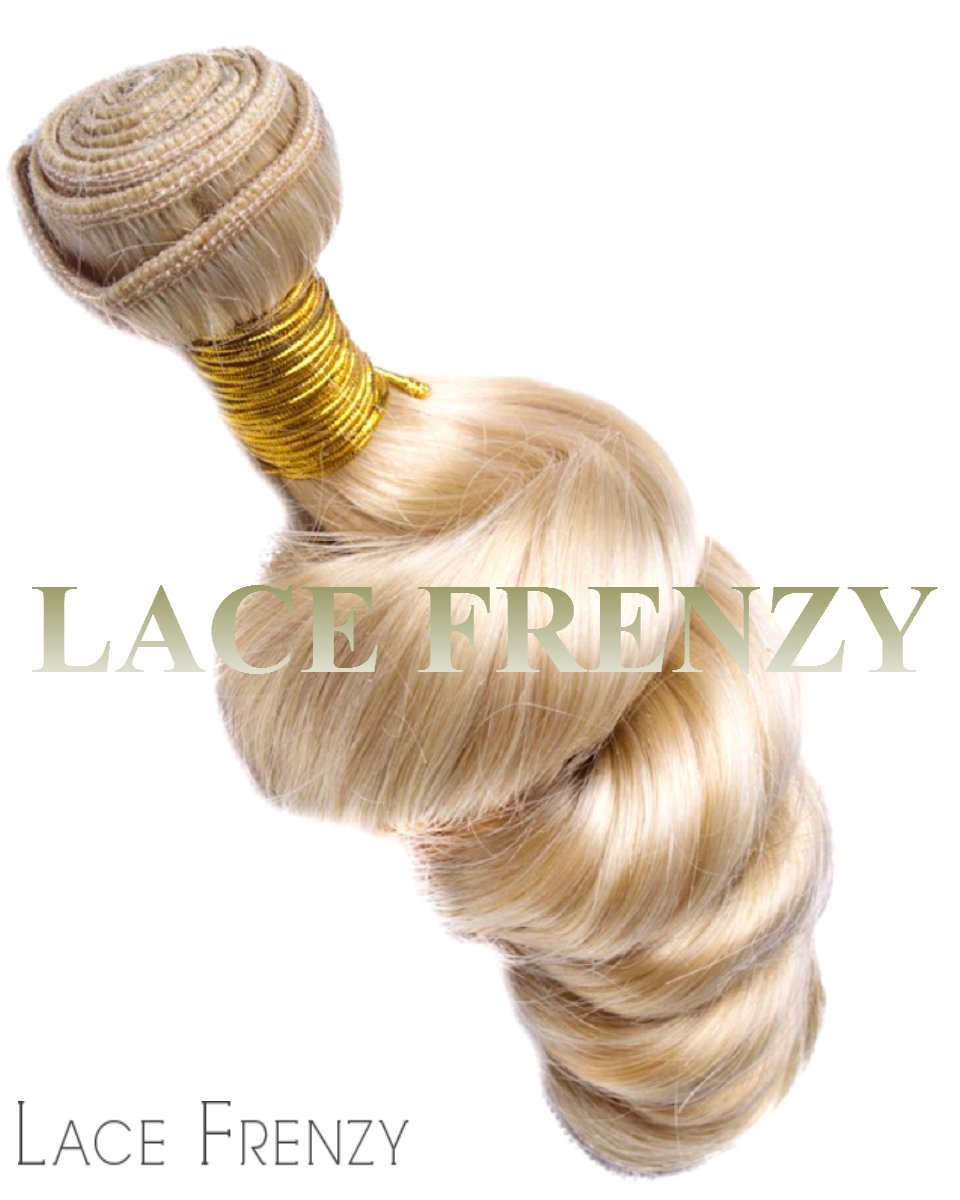 brazilian virgin hair 613 loose wave 100g machine weft