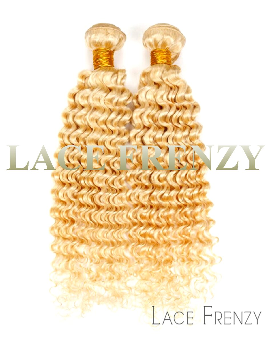 Virgin Grade 8a Hair - Deep Curly -200G Machine Weft Bundle