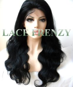 Janessa- Indian Remy Human Hair- Body Wave - Silk Base Lace Front Wig