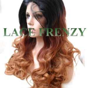 BillieJean- Curly Ombre' Lace Front Wig