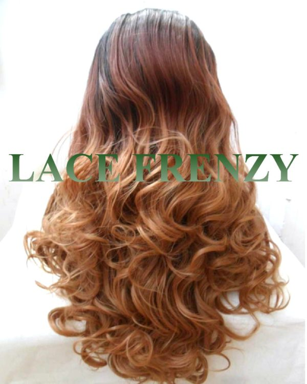BillieJean- Curly Ombre- Lace Front Wig