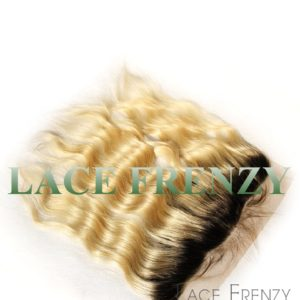 brazilian virgin hair 13x4 inches two toned body wave lace frontal