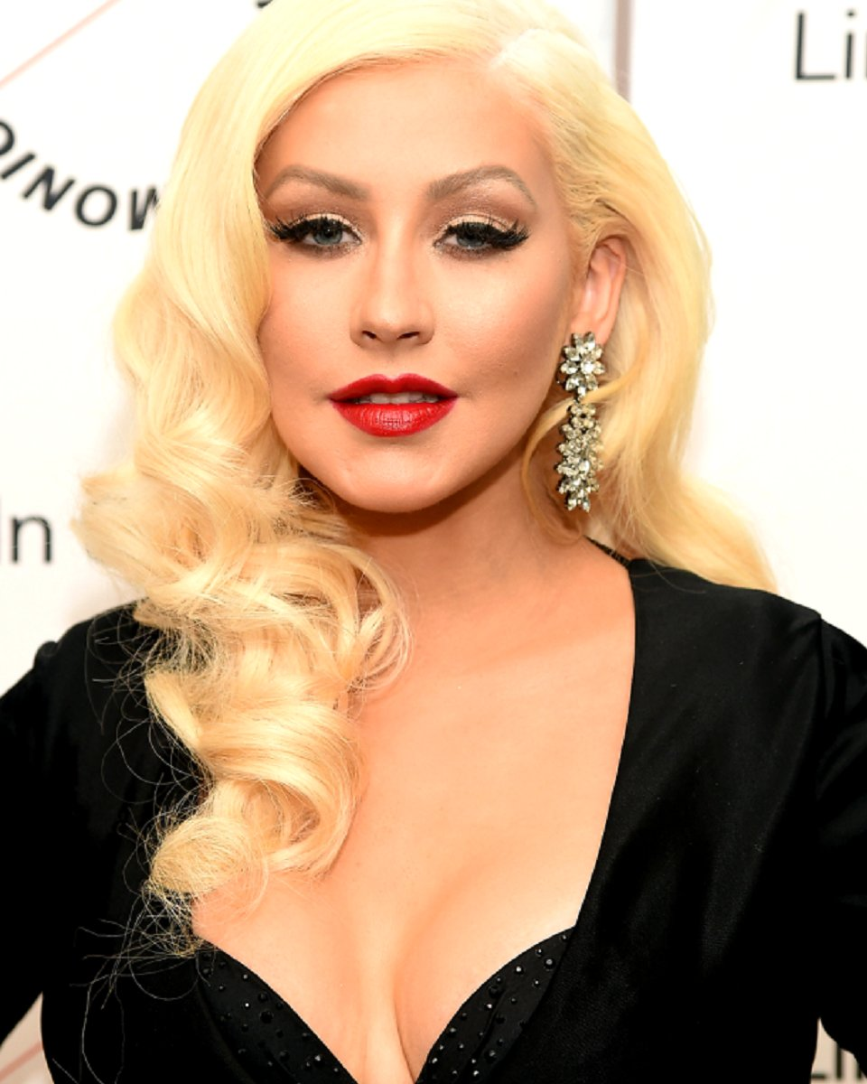 christina aguilera - body wave- custom celebrity lace wig