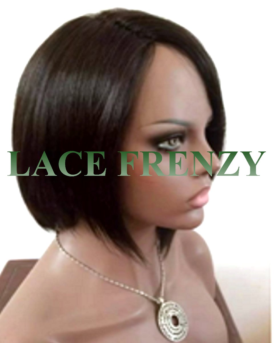 Carter- Bob Cut- Indian Remy Hair - Machine Made Wig