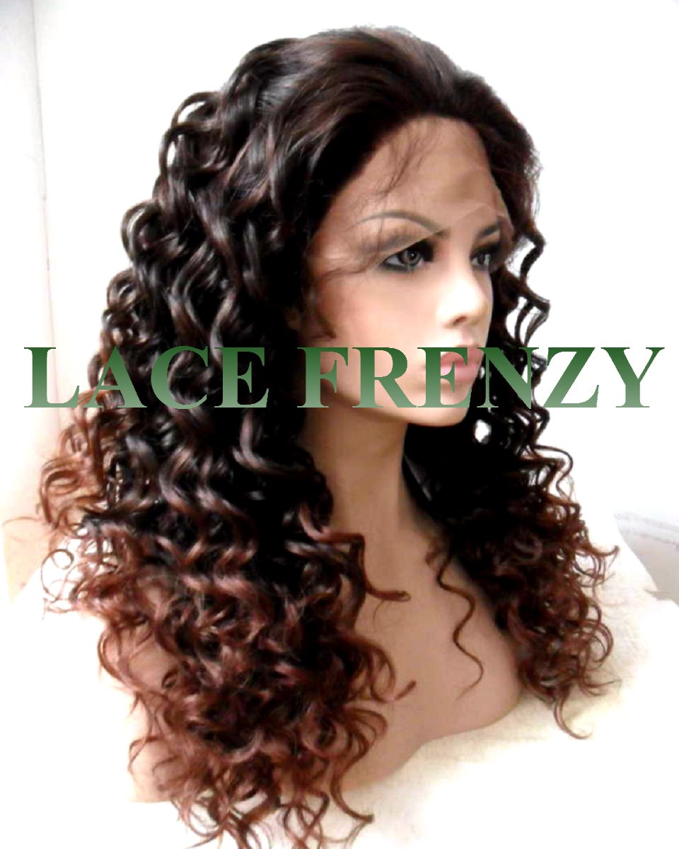 Claudia - Deep Curly-Lace Front Wig